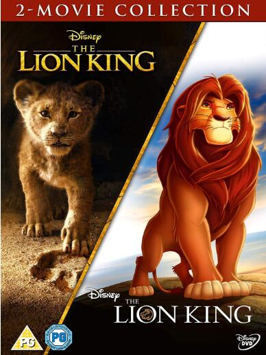 Disney's The Lion King Doublepack – UK Region