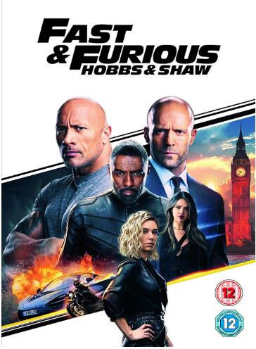 Fast & Furious Presents Hobbs & Shaw – UK Region
