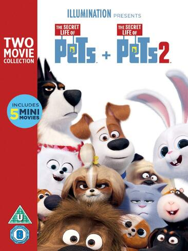 The Secret Life of Pets 2 Box Set – UK Region