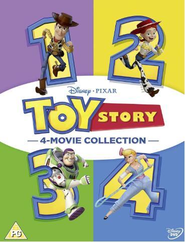 Toy Story 1-4 [UK Region]
