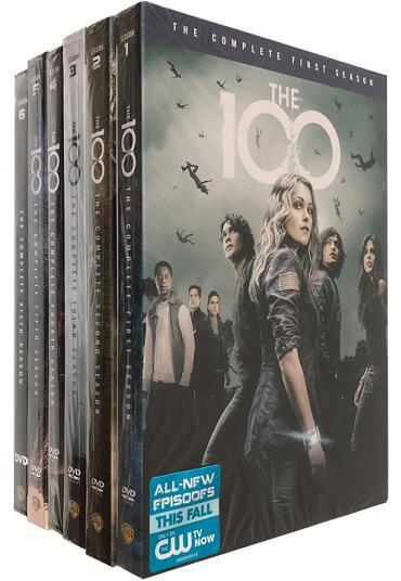 The 100: Season 1-6 DVD Bundle