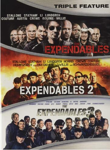 The Expendables 1-3