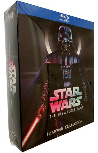 Star Wars: The Skywalker Saga 12-Movie Collection [Blu-ray]