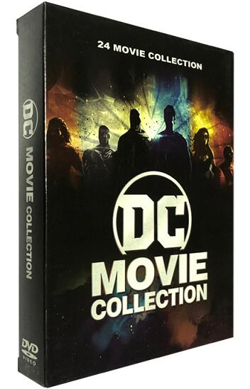 DC Comics 24 Film Movie Collection