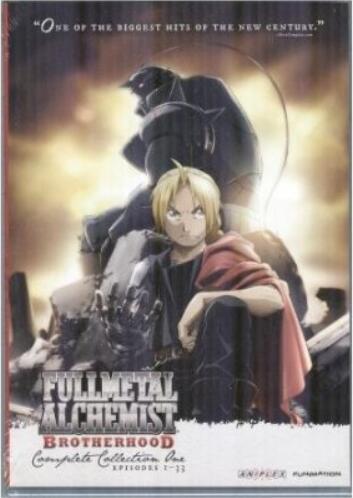 Fullmetal Alchemist: Brotherhood – Complete Collection One